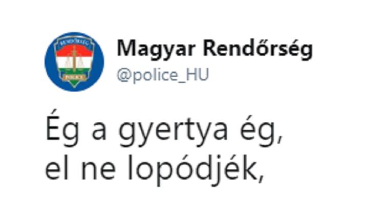 Vajon berúgtak a rendőrség twitterének kezelői?