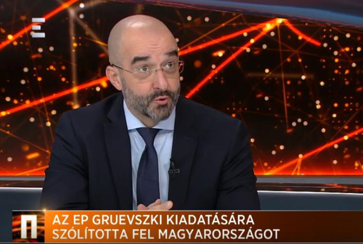 Kovács Zoltán: Az Európai Parlamentnek semmi keresnivalója a Gruevszki-ügyben