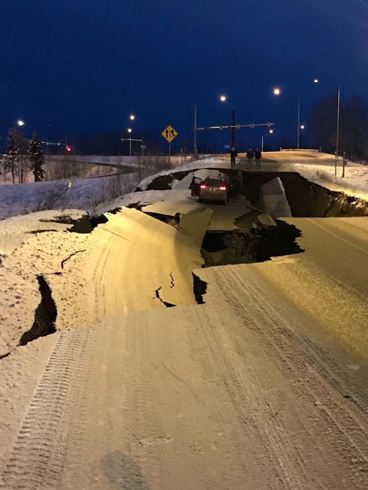 Erős, 7.0-ás földrengés rázta meg Alaszkát