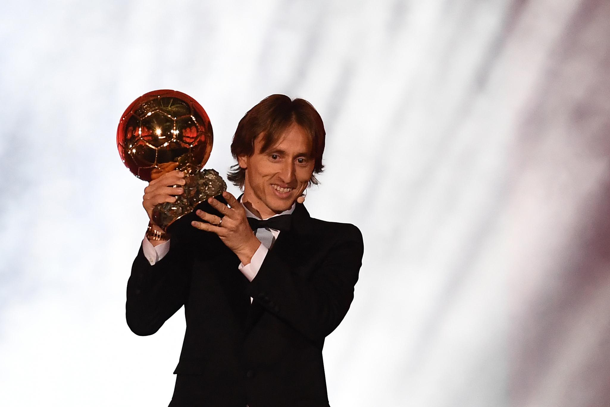 Luka Modric nyerte az Aranylabdát