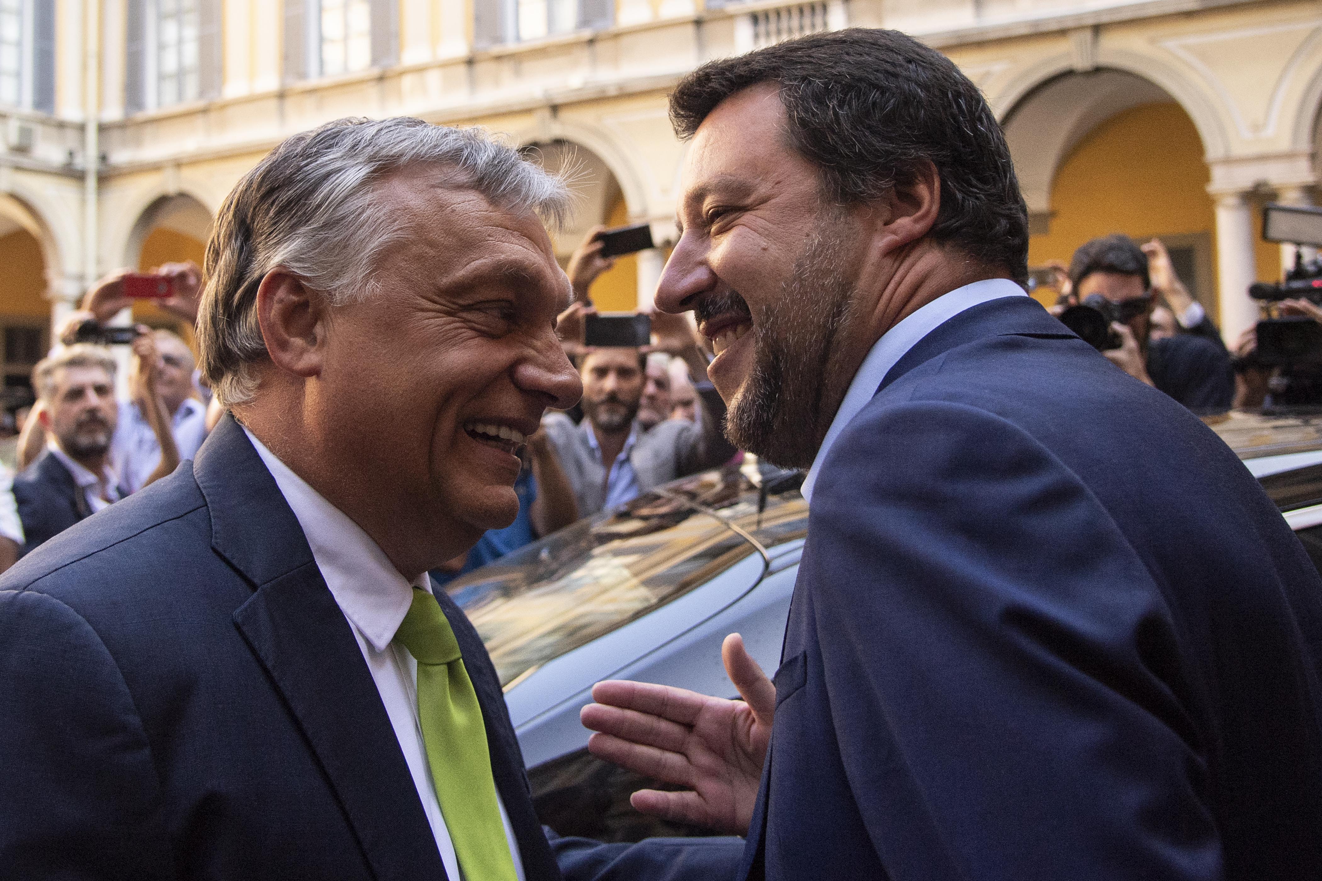 Matteo Salvini Budapesten egyeztethet Orbánnal az EP-választás előtt