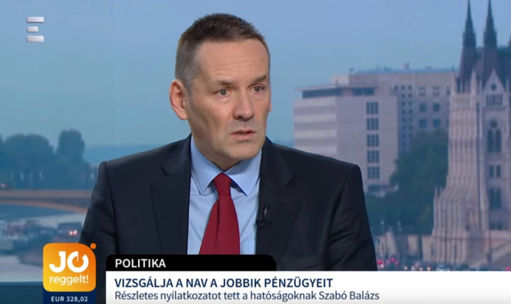 Volner János a Magyar Időknek: Még három embert leszednek a Jobbikban