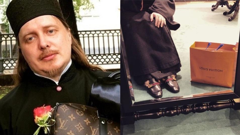 Fegyelmi bizottság elé kerül az ortodox pap, aki Isten mellett a Louis Vuittont és a Guccit is imádja