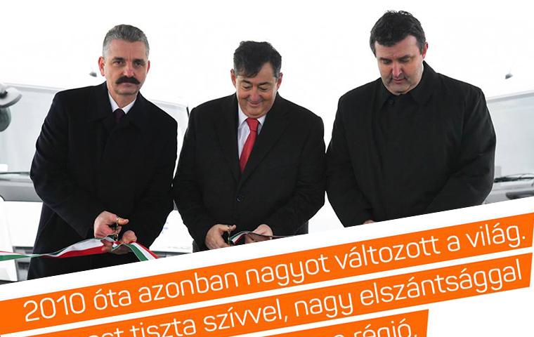 """""""2010 óta azonban nagyot változott a világ"""", posztolta a fideszes képviselő a Mészáros Lőrinccel közös képhez"""