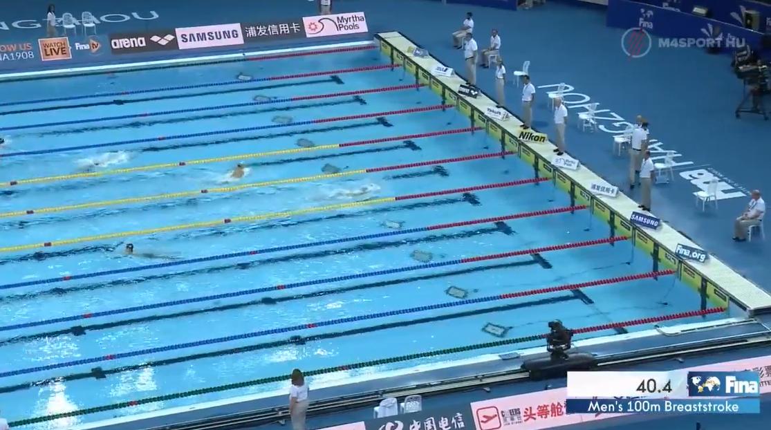Bámulatos, soha nem látott teljesítménnyel rukkolt elő egy afgán úszózseni a kínai vébén