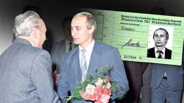Megtalálták Putyin igazolványát a Stasinál