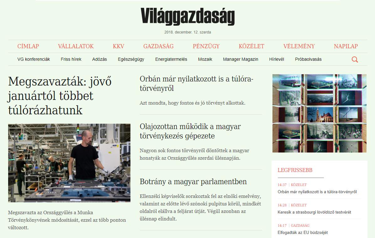 Kormánylap: Olajozottan működik ma a magyar törvényhozás