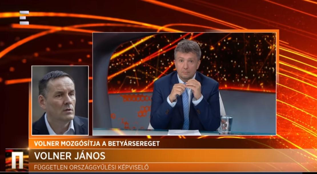 Volner János az Echo TV-ben: Ha a baloldali csürhe komolyabb eredményt ér el, riadóztatom a Betyársereget