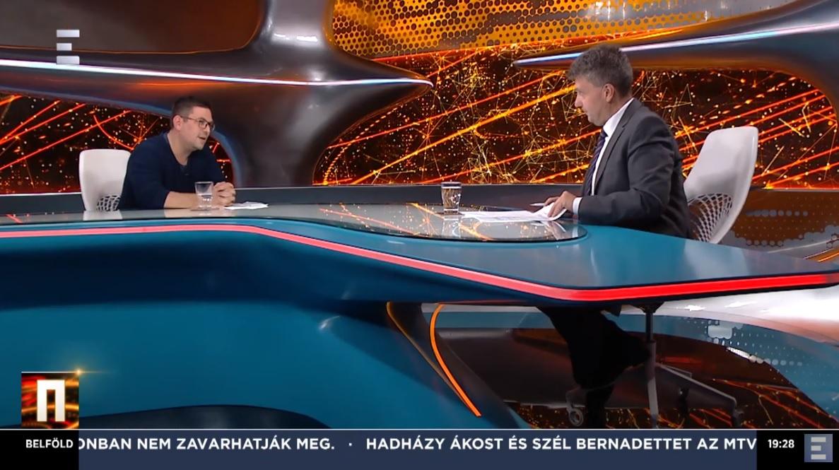 Legalább az Echo Tv-n sikerült belolvasni az ellenzéki követeléseket, bele is zavarodott a műsorvezető