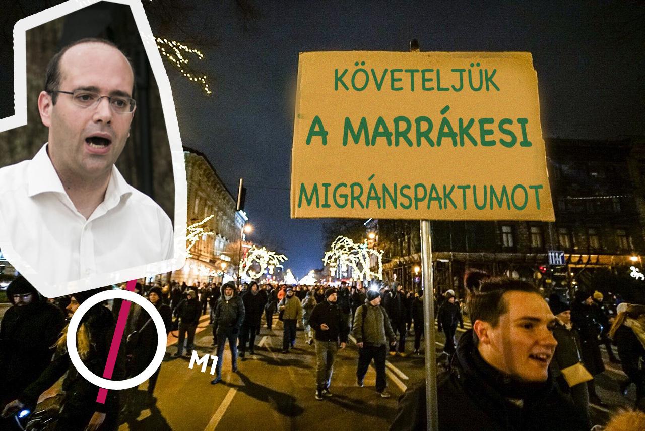 """Nemzetstratégiai elemzés: """"a marrákesi migránspaktum részleges kudarca"""" áll a tüntetések mögött"""