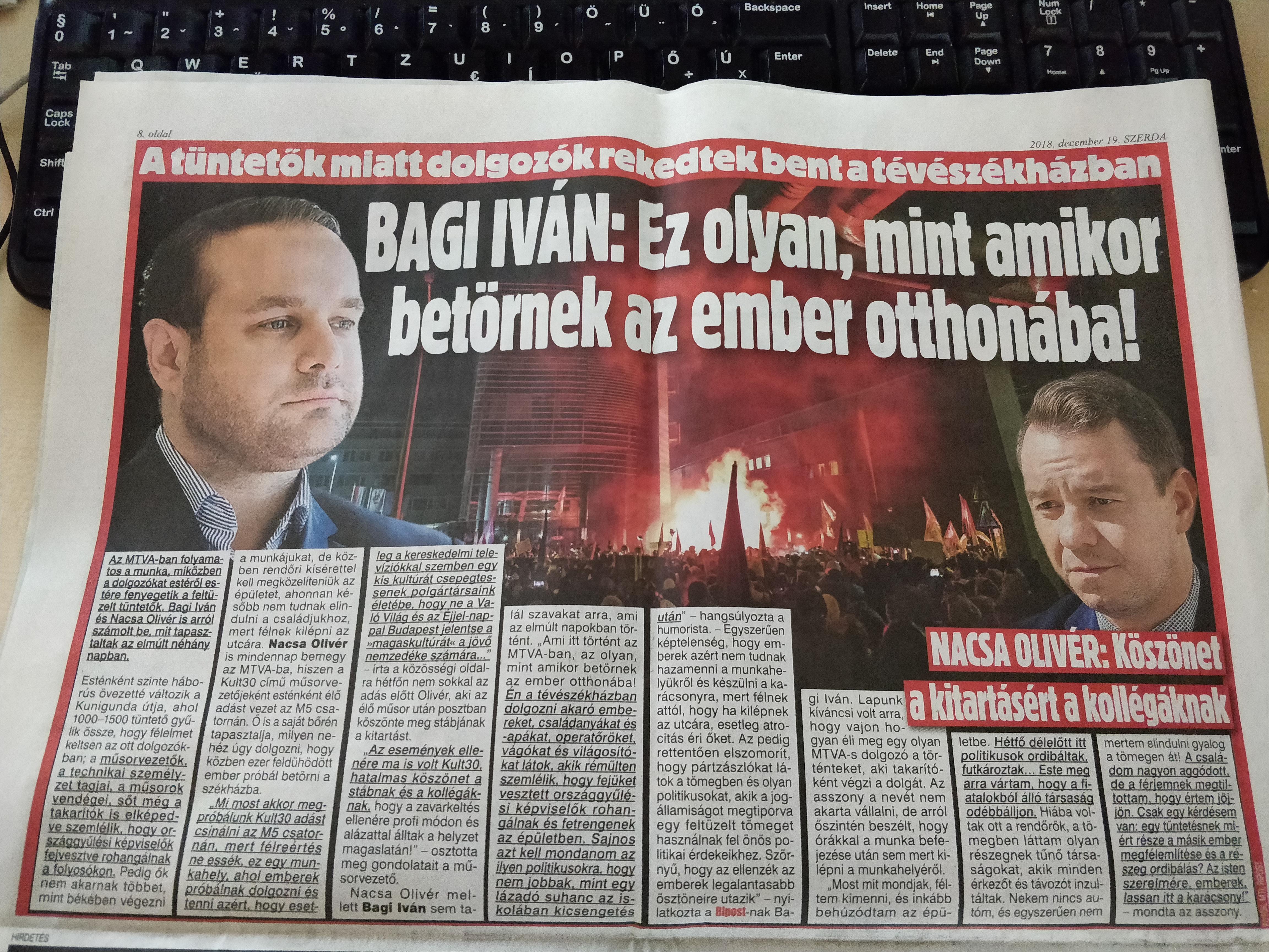 Végre díjazzák a kormánypárti humort: Bagi Iván és Nacsa Olivér kapta a Karinthy-gyűrűt