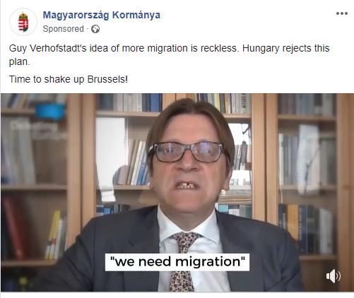 Guy Verhofstadt személyesen Mark Zuckerbergnél nyomta fel fakenews-terjesztésért a magyar kormányt