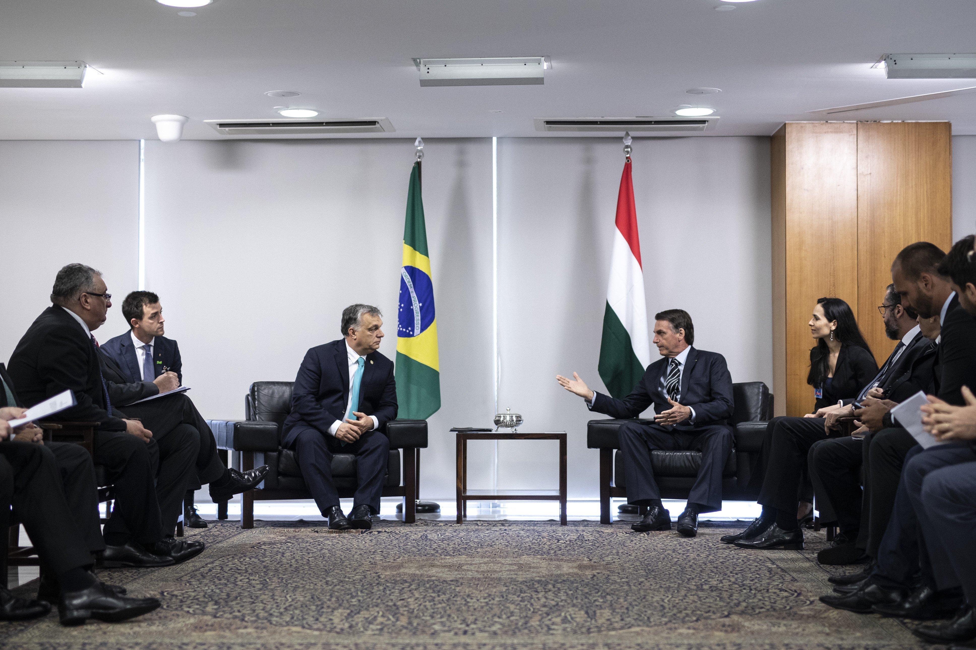 Siker: Orbán meghívta Magyarországra a brazil elnököt, ő pedig elfogadta a meghívást