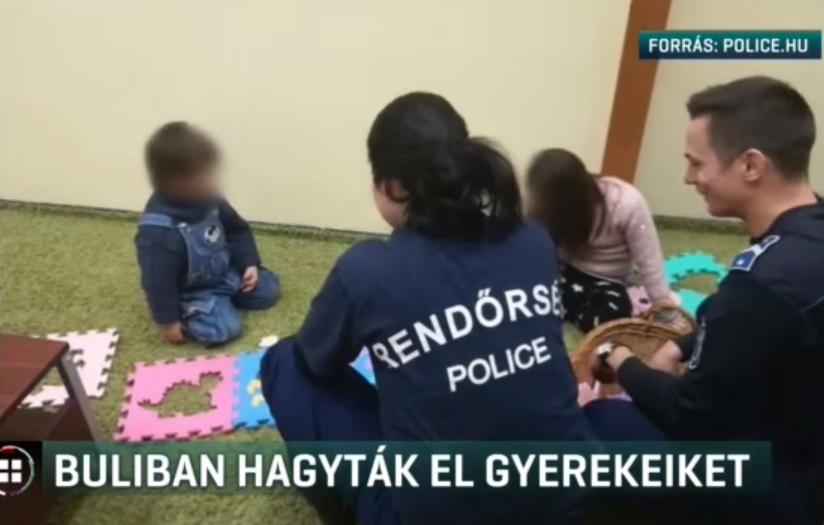 Eljárás indult a nő ellen, aki elhagyta a gyerekeit szilveszter este ivás közben
