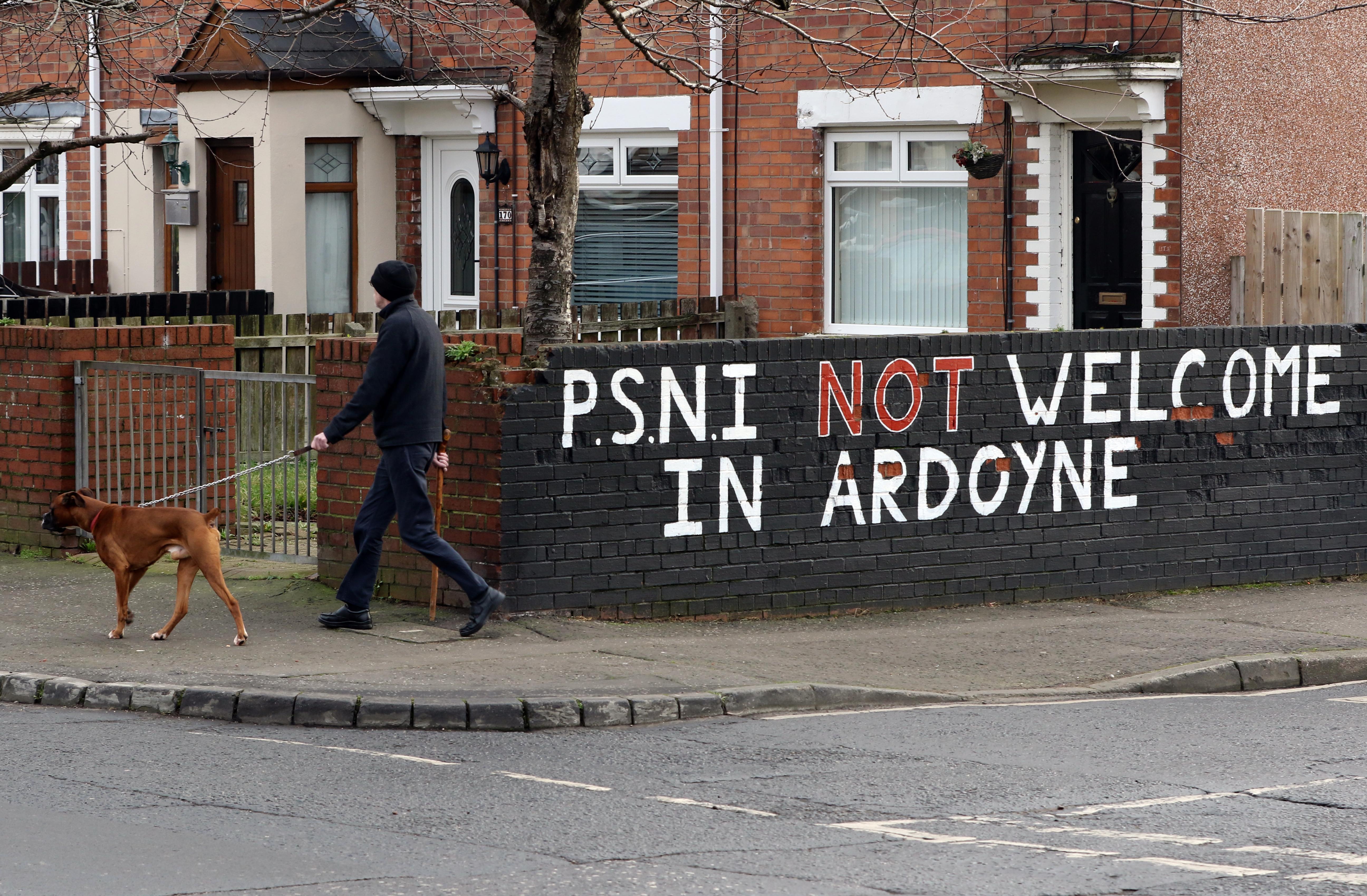Rendőri erősítésekkel készülnek Észak-Írországban az alku nélküli Brexitre