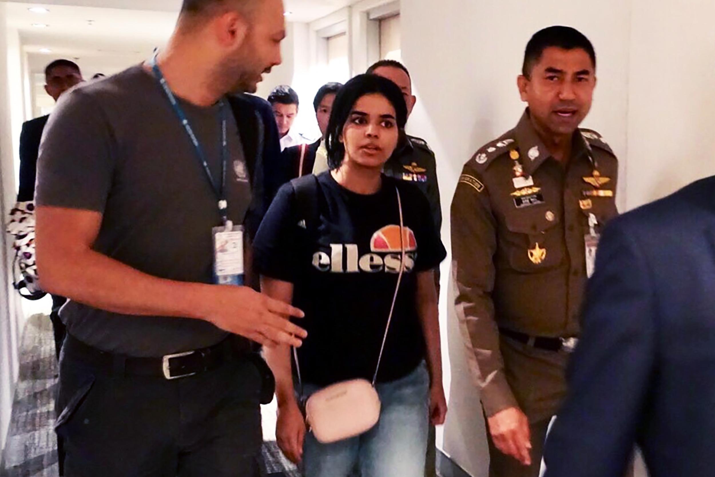 Menekültstátuszt kapott az ENSZ-től a családja elől Thaiföldre menekült szaúdi nő