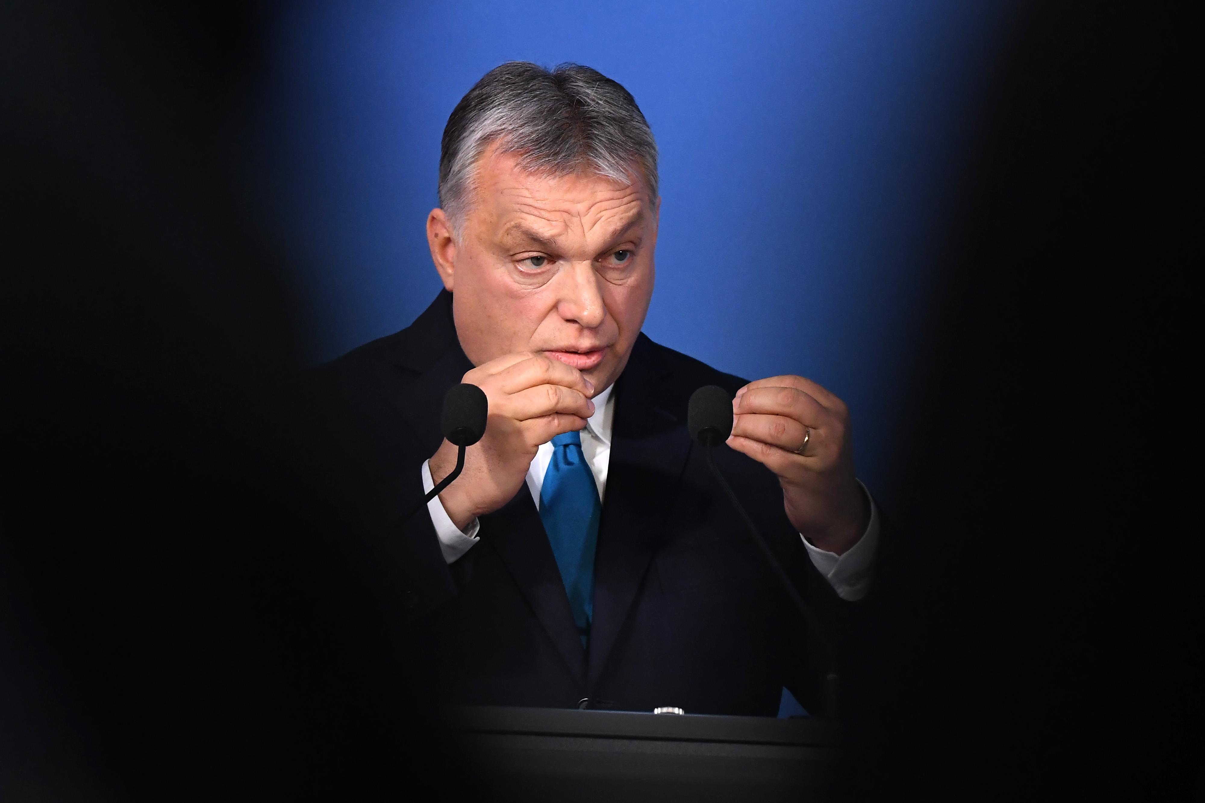Orbán: Nincs bennem harag, nem rázom az öklömet, fölkelek, és azt látom, hogy a mai nap is ellenszélben fogok dolgozni