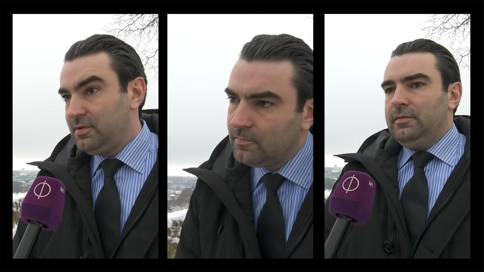 Szájába adták a köztévének nyilatkozó ifjabb Lomnici Zoltánnak, hogy mit kell mondani
