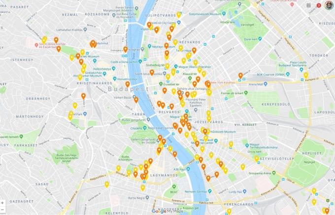 Összeszedték, hol hiányoznak leginkább a kerékpártárolók Budapesten