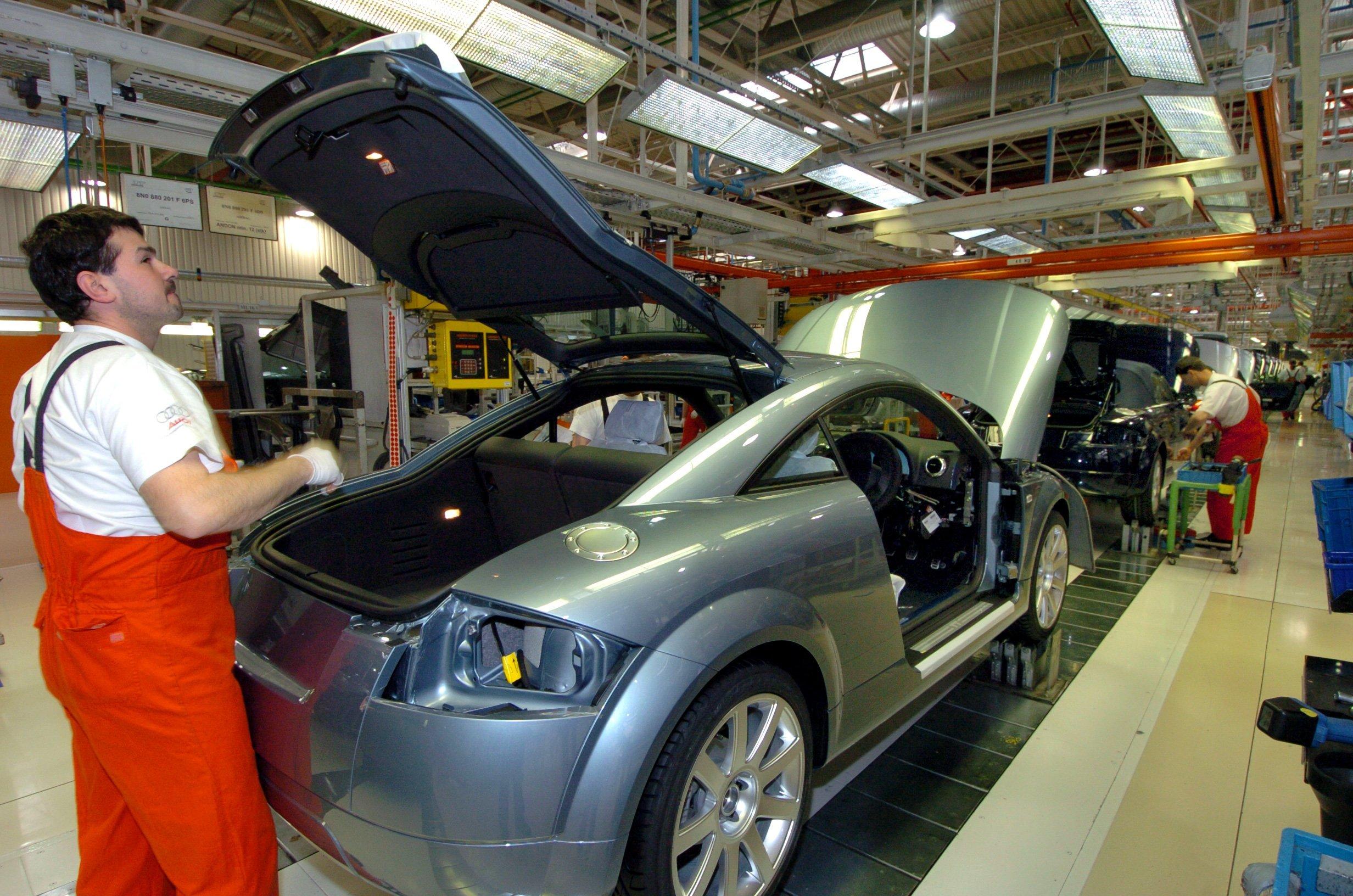 Koronavírusos lett a győri Audi egyik alkalmazottja