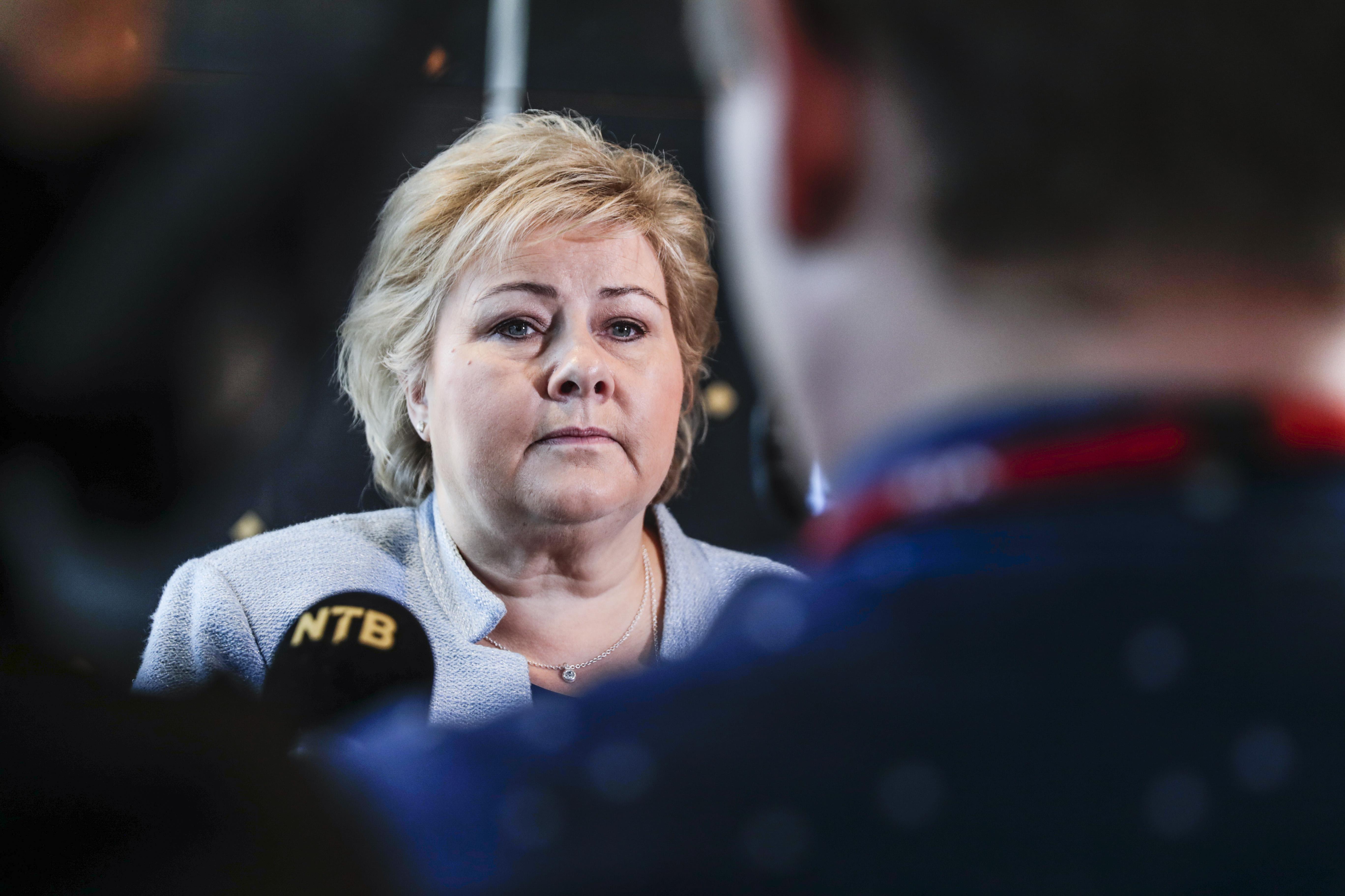 20 ezer korona pénzbüntetést kapott a norvég miniszterelnök