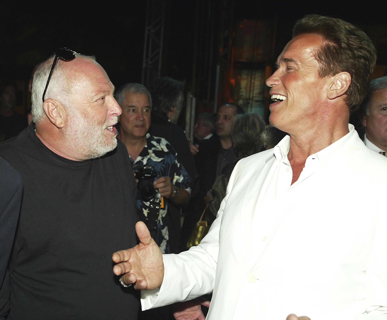 Arnold Schwarzenegger mond majd gyászbeszédet Andy Vajna temetésén