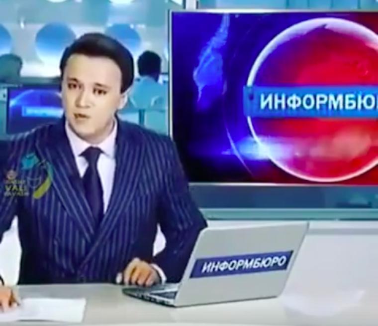 Úgy melegíts be erre a fagyos napra, mint ez a kazah hírolvasó!