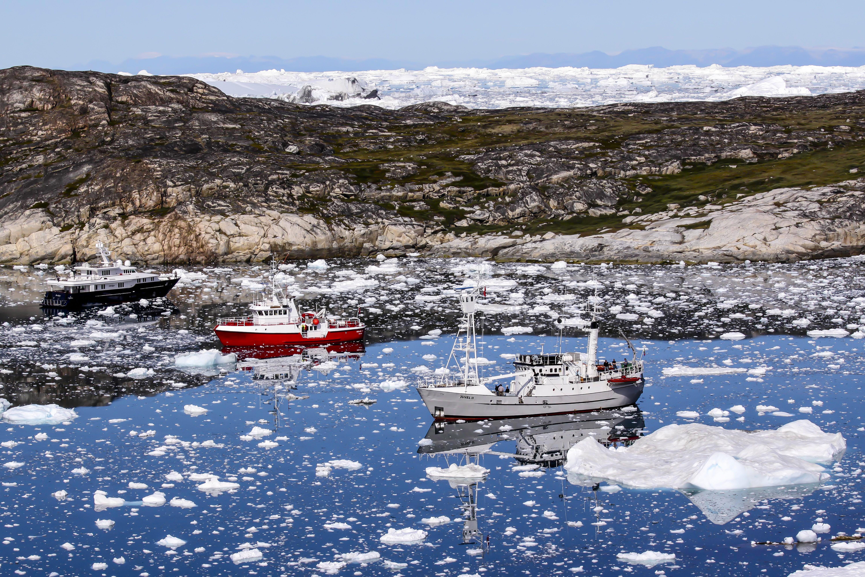 2 milliárd tonna jég olvadt el csütörtökön Grönlandon