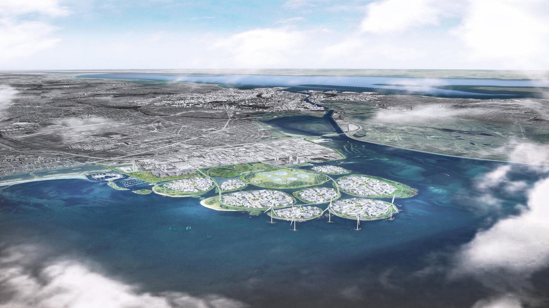 A dán kormány 9 mesterséges szigetet építene Koppenhága mellé
