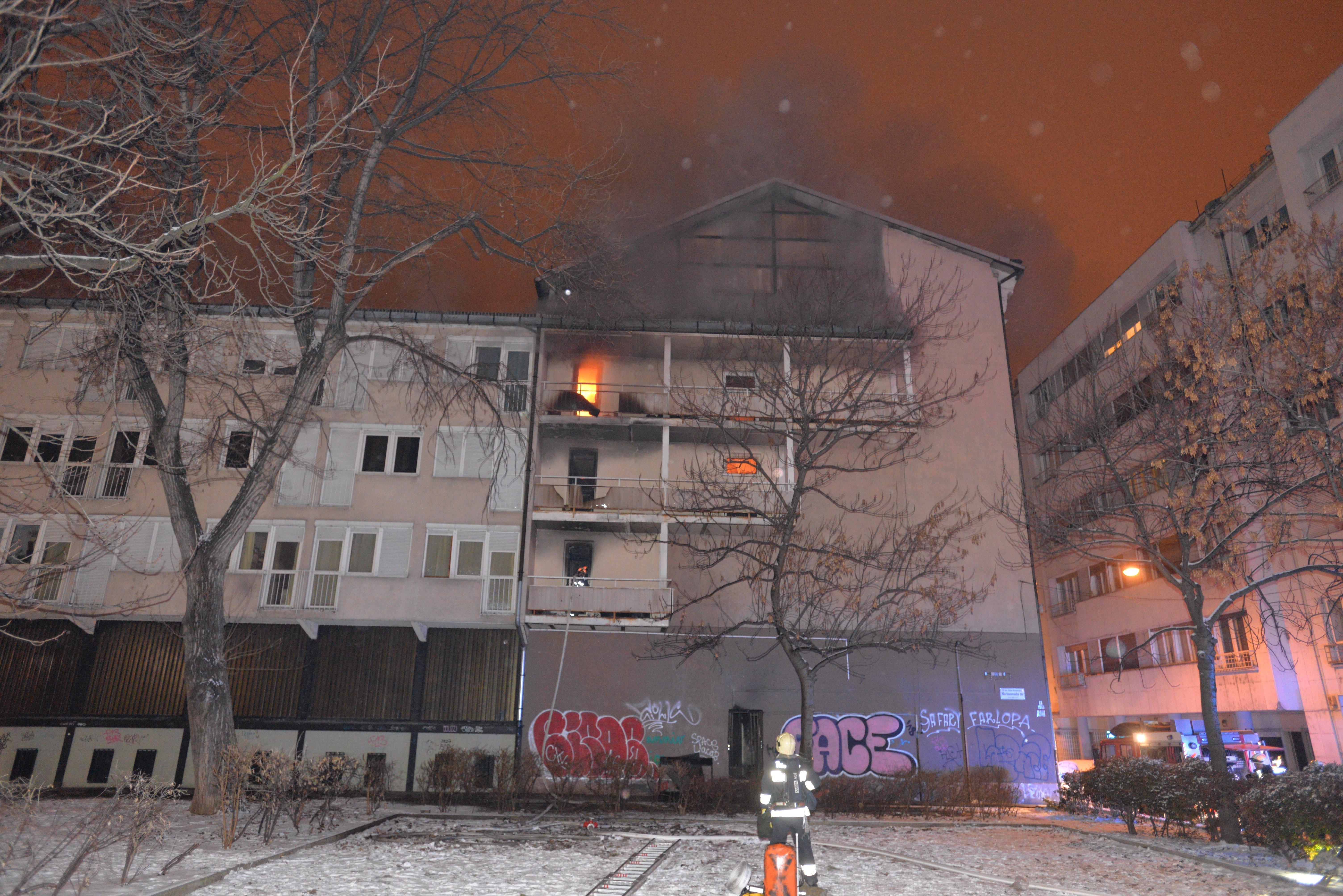 Szándékos gyújtogatás okozta a tüzet a Ráday kollégiumban