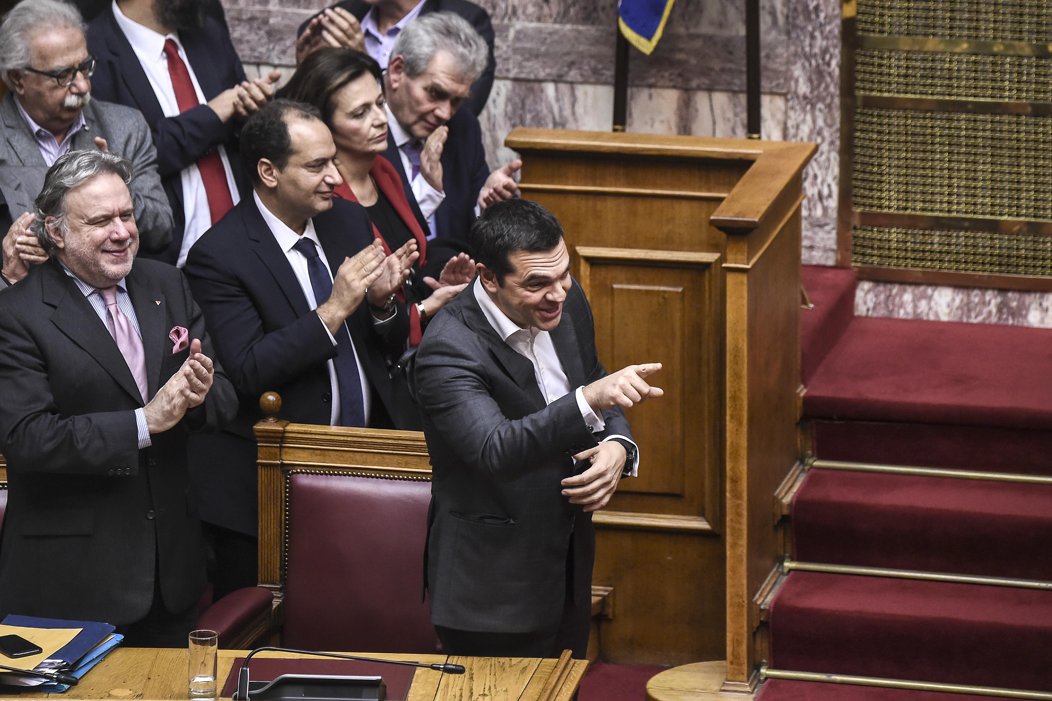 Háromnapos vita után a görög parlament végül elfogadta Macedónia új nevét