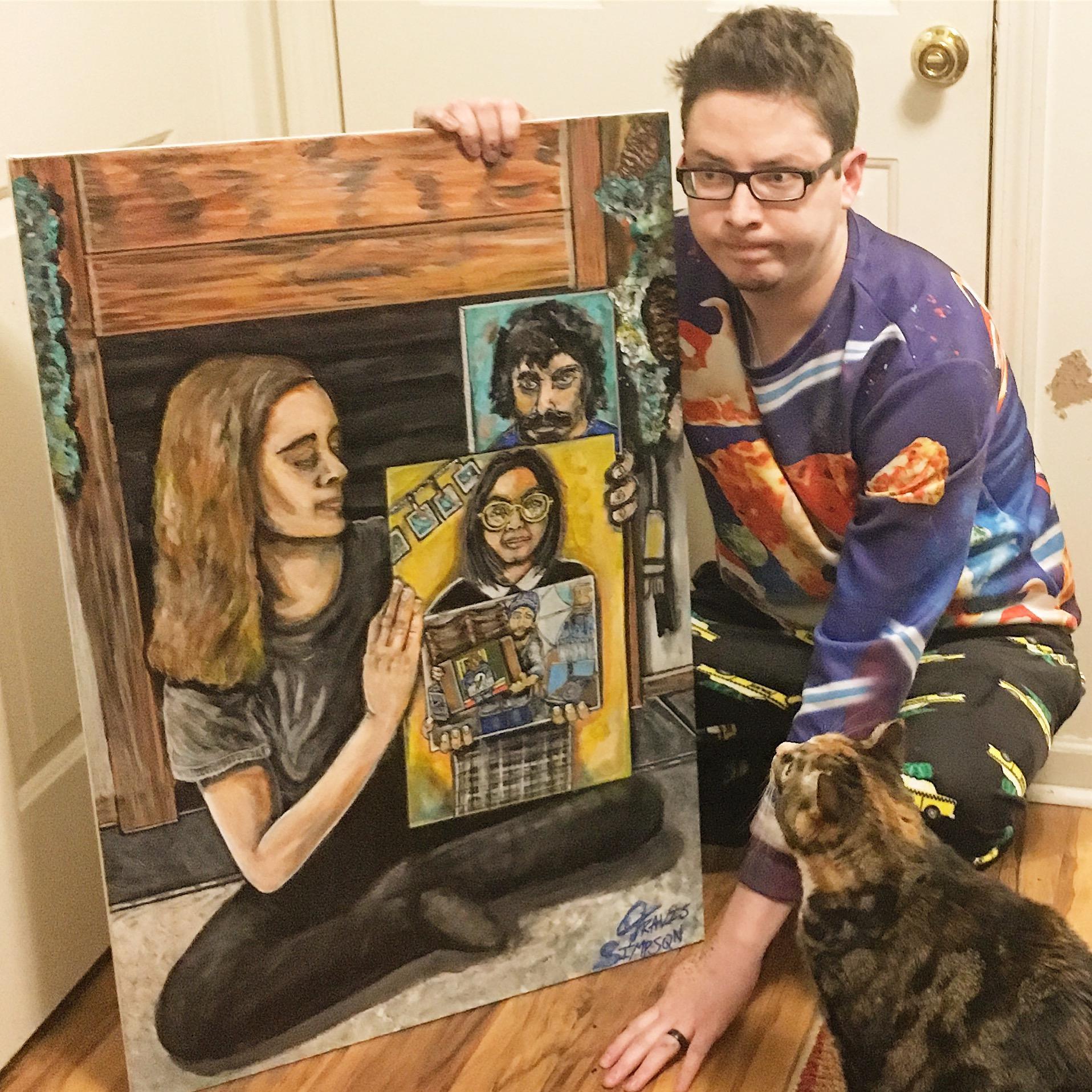 Segíteni akart a mamájának önbizalmat gyűjteni, de egy soha véget nem érő festészeti mémszörnyeteget indított el