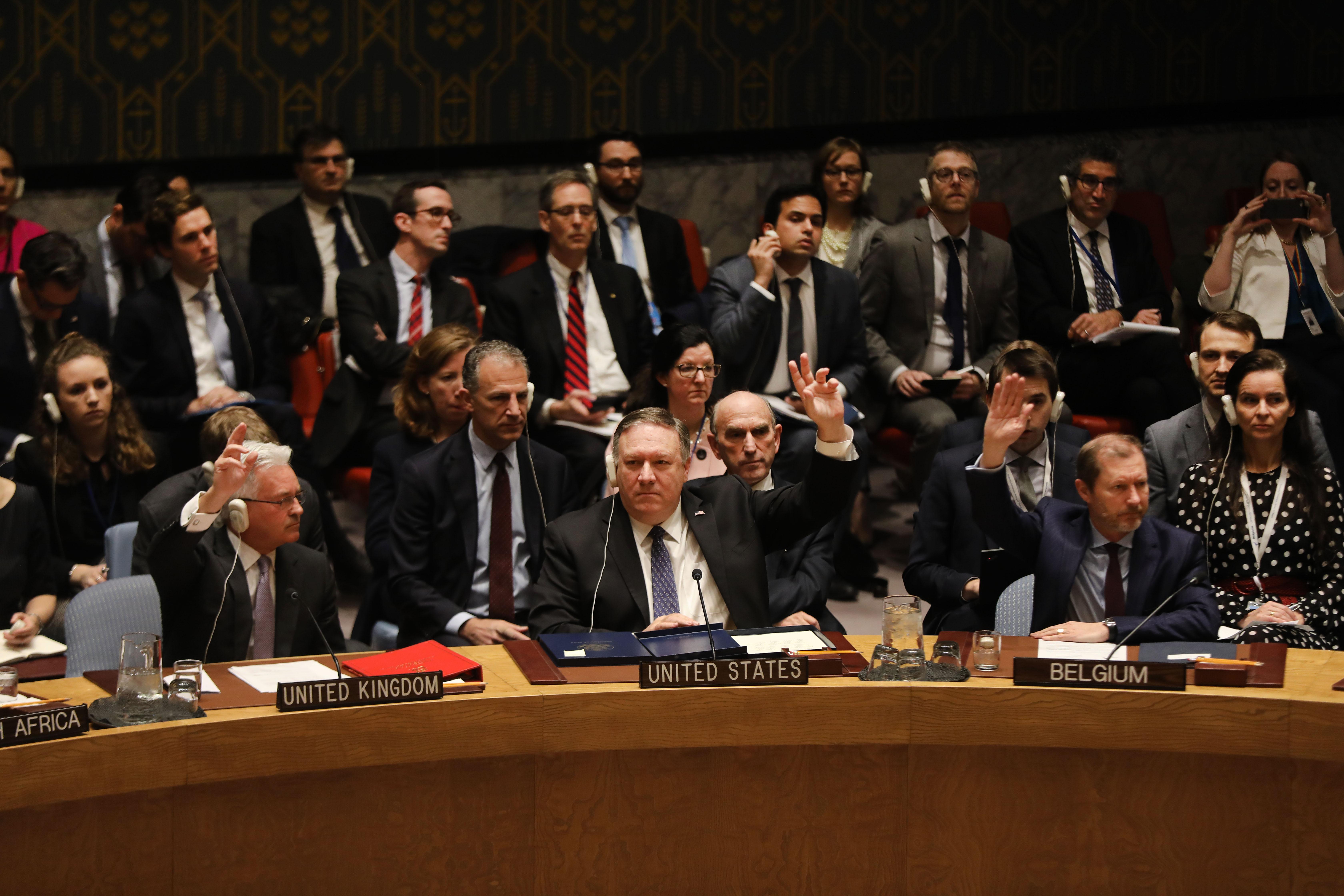 Balhé az ENSZ-ben: Venezuela miatt esett egymásnak az USA és Oroszország