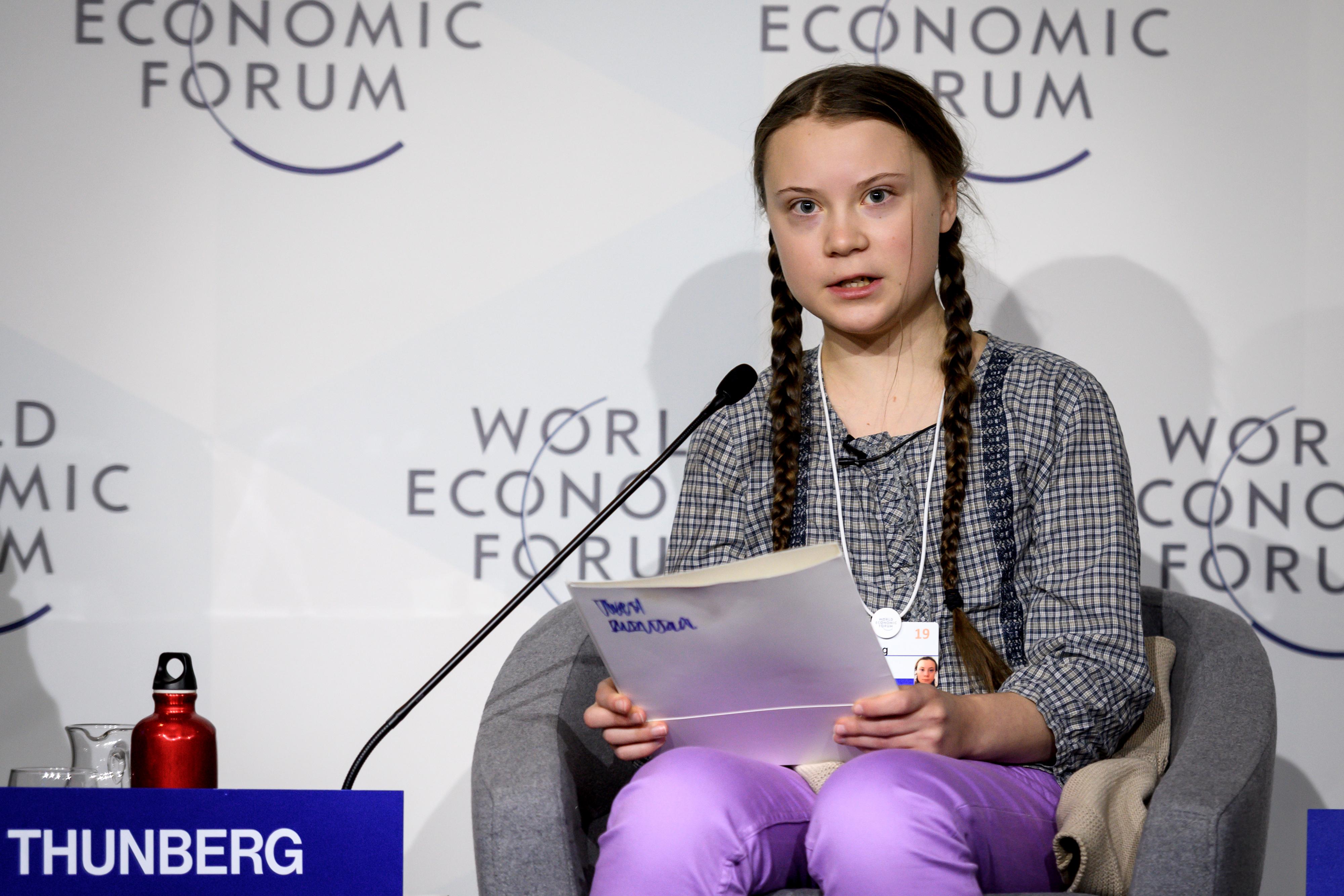 Putyin: Greta Thunberg egy kedves, de rosszul informált tinédzser