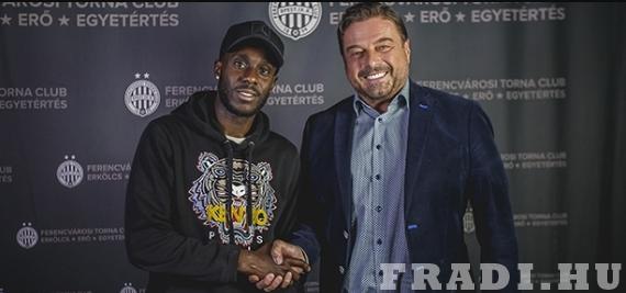 A világ egyik legnagyobb menekülttáborában született játékost igazolt Kubatov Gábor Fradija