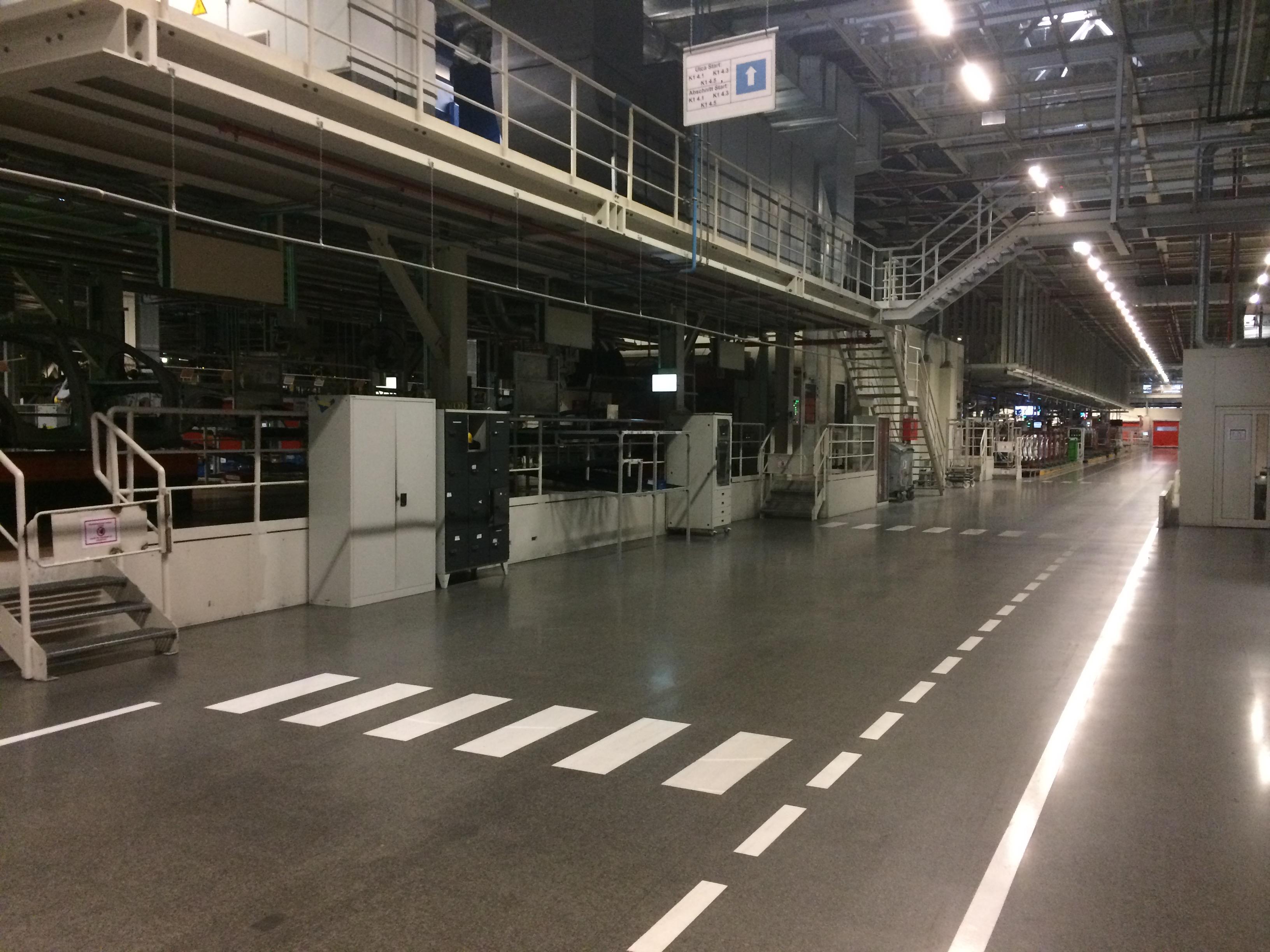 A győri Audi-gyár is leáll