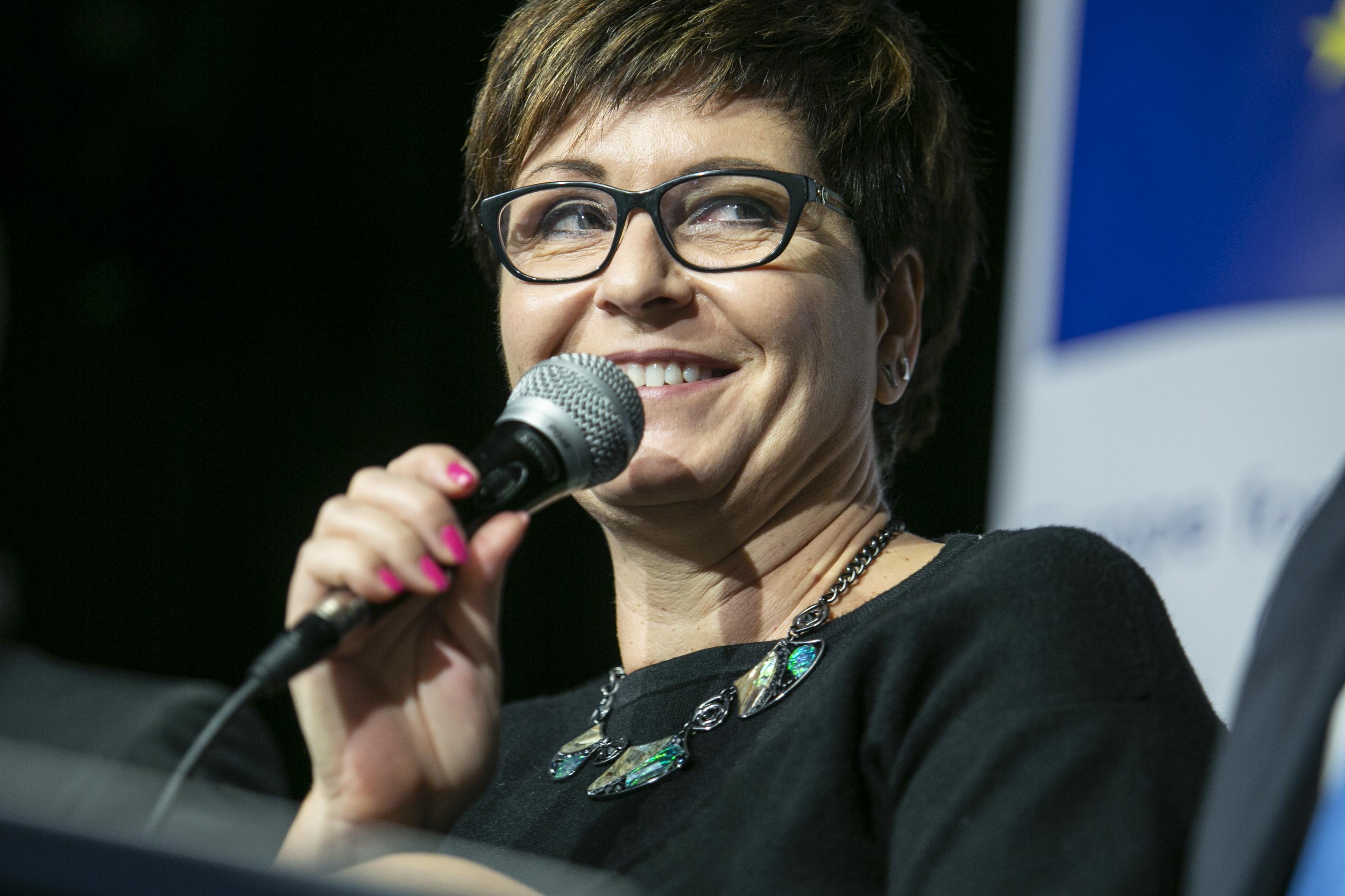 Kálmán Olga a DK főpolgármester-jelöltje