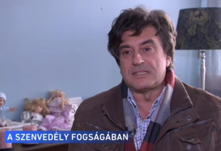 Tihanyi Tóth Csaba egy lakás árát játszotta el szerencsejáték-függőként