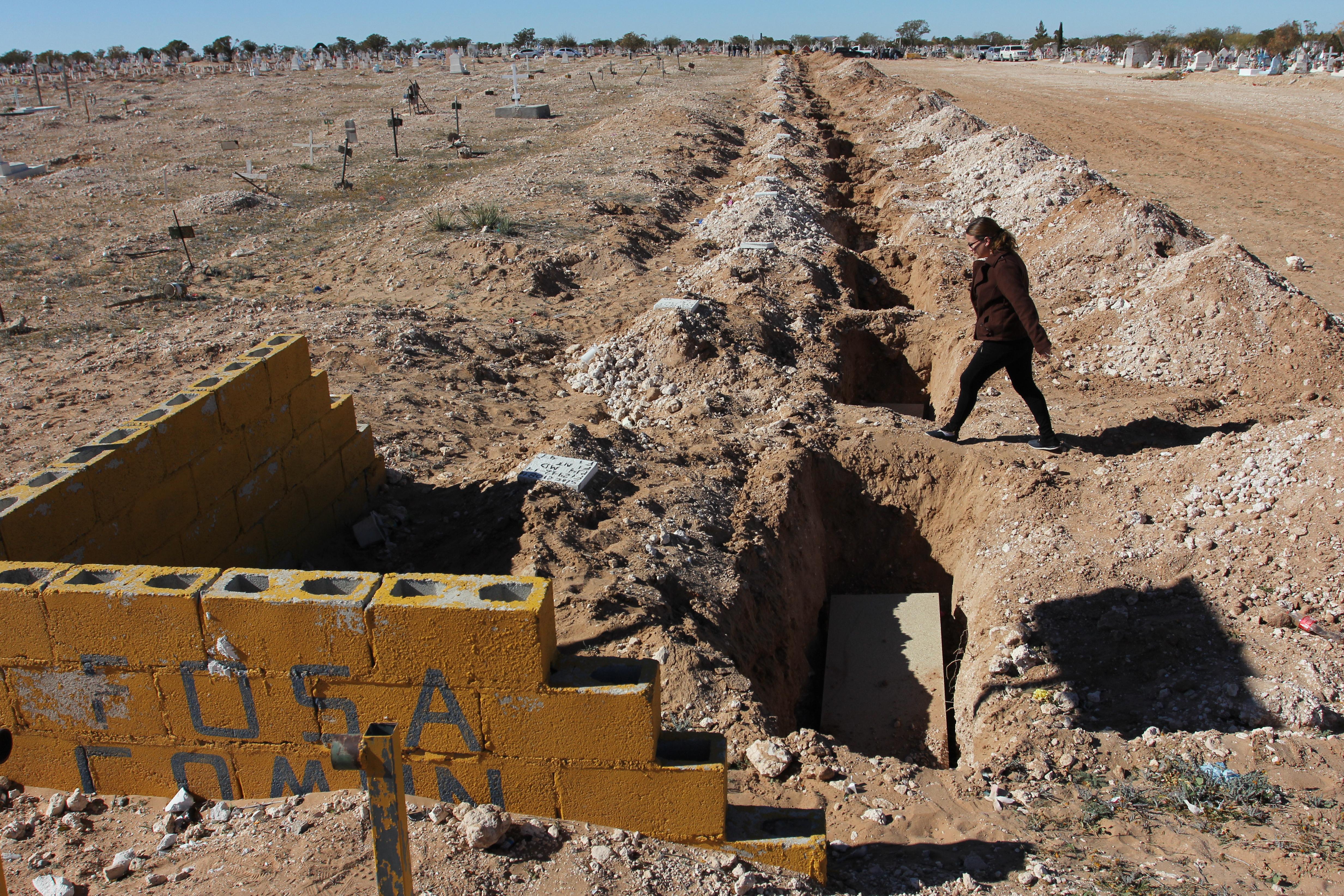 Drogháborús tömegsírt találtak Nyugat-Mexikóban