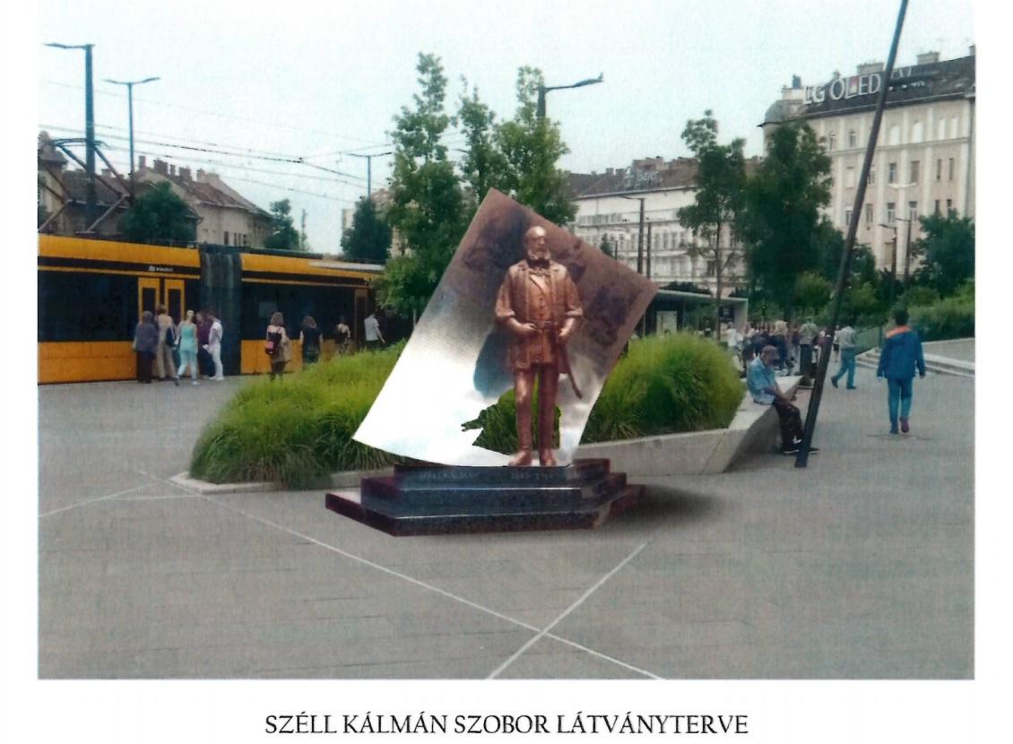 Széll Kálmán-szobor lesz a Széll Kálmán téren