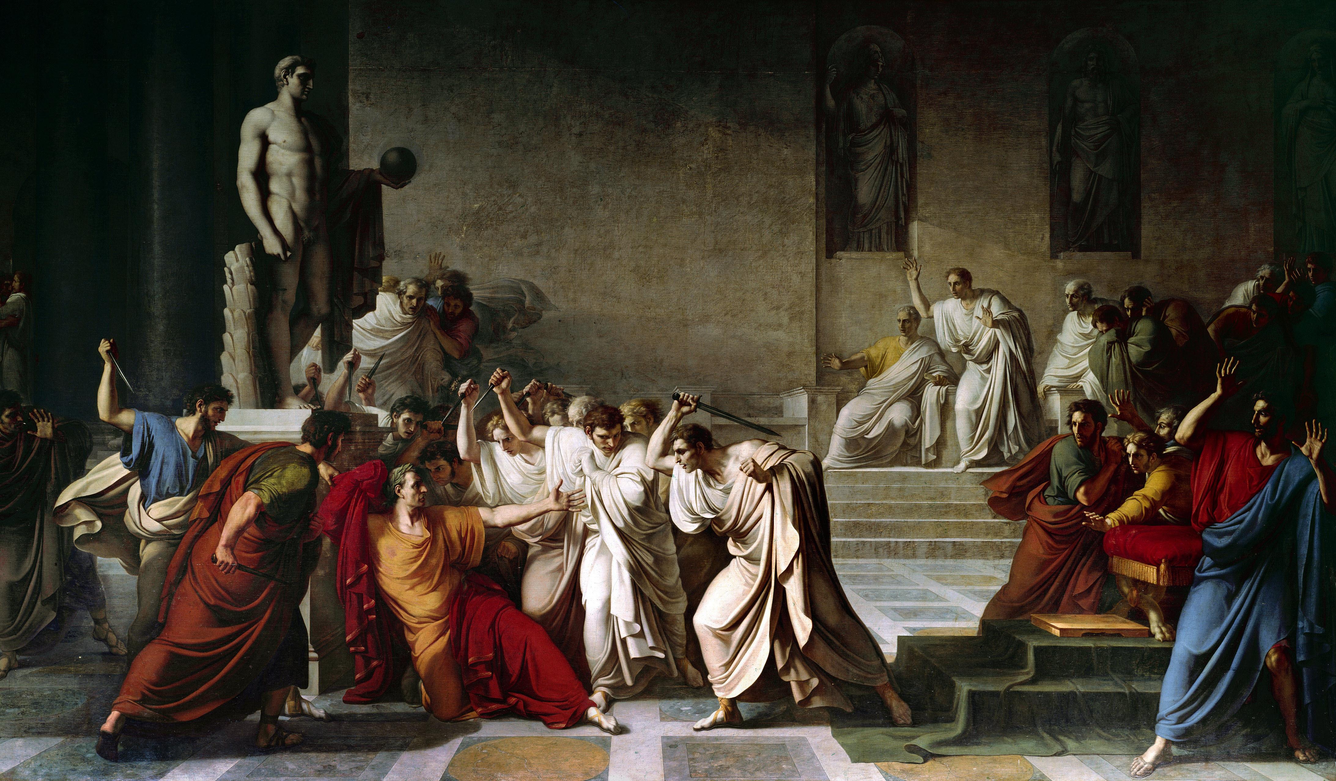 Egy ékszergyártó pénzéből tárják fel a helyet, ahol megölték Julius Caesart
