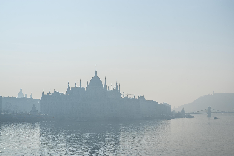 Még mindig jó nagy a szmog Budapesten