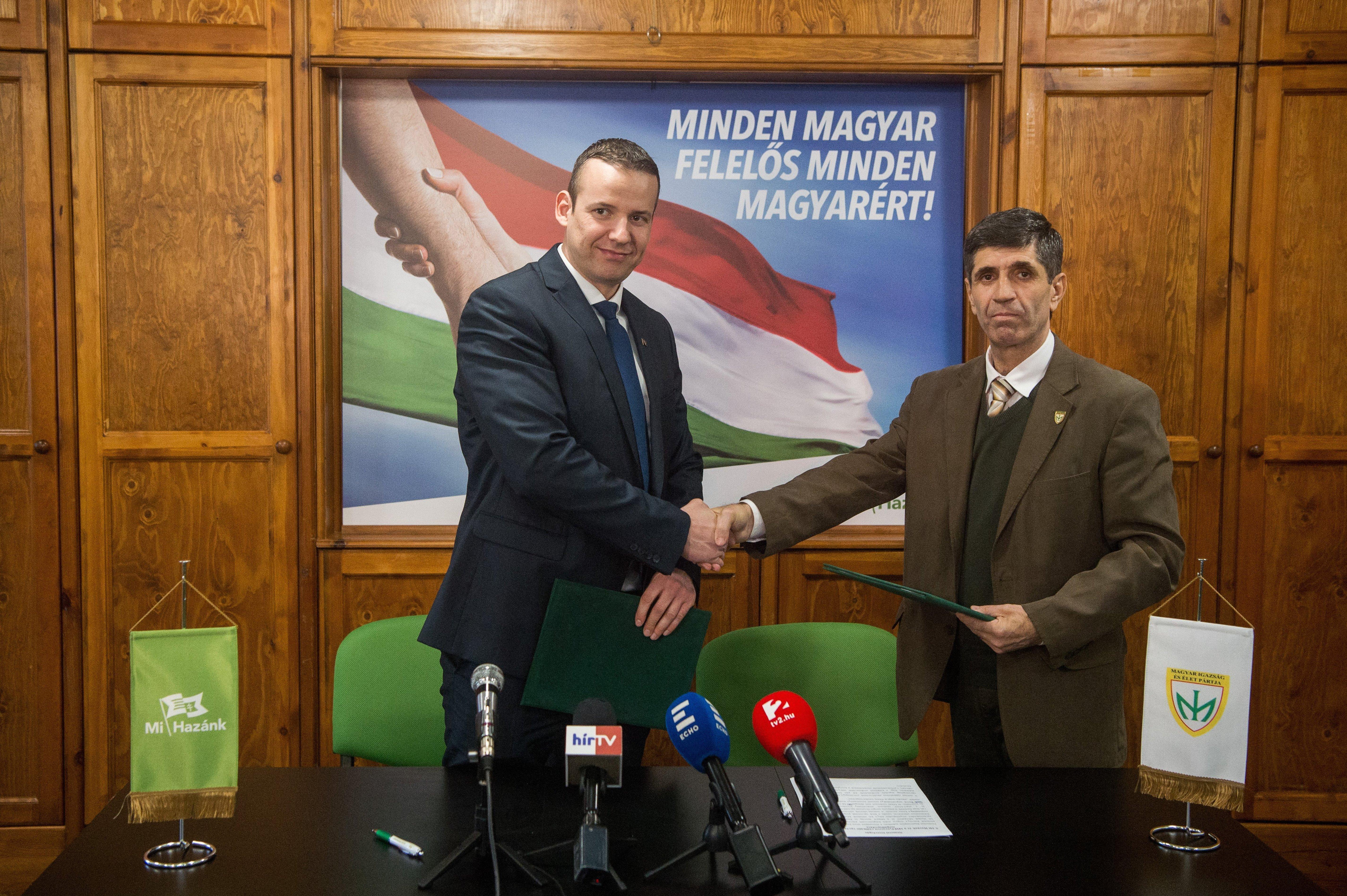 Itt a szegény ember Fidesz–KDNP-je: együttműködési megállapodást kötött a Mi Hazánk Mozgalom és a MIÉP