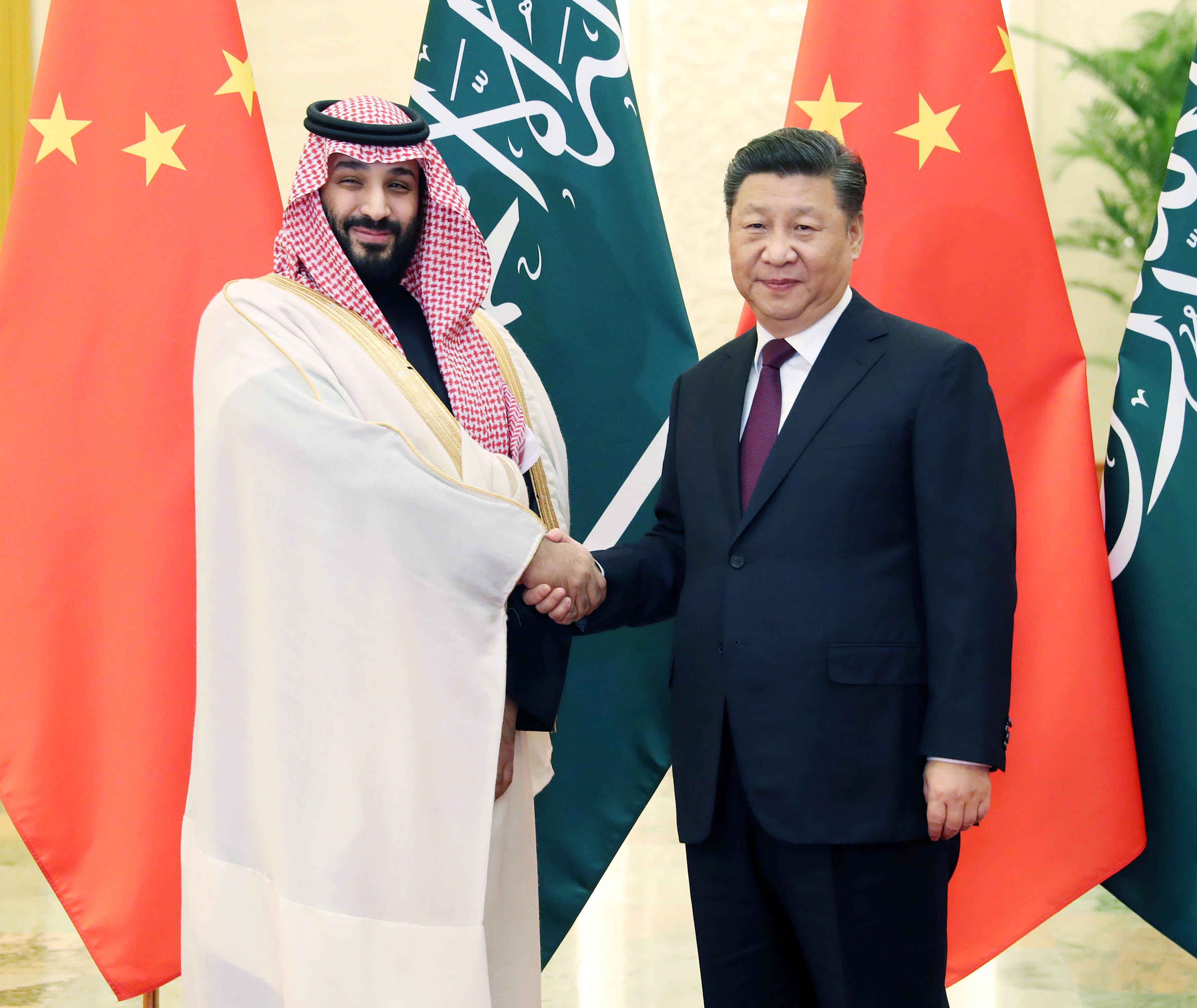 A szaúdi koronaherceget nem zavarja, hogy Kína muszlimokat zár átnevelő táborokba
