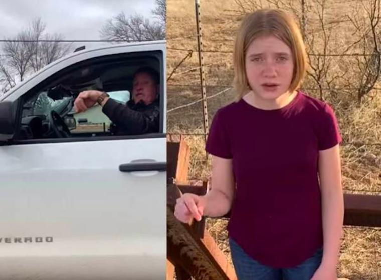 Az arizonai rendőr megfenyegette a 12 éves újságírólányt, hogy börtönbe dugja, ha tovább szimatol, de nem tudta, kivel húzott ujjat