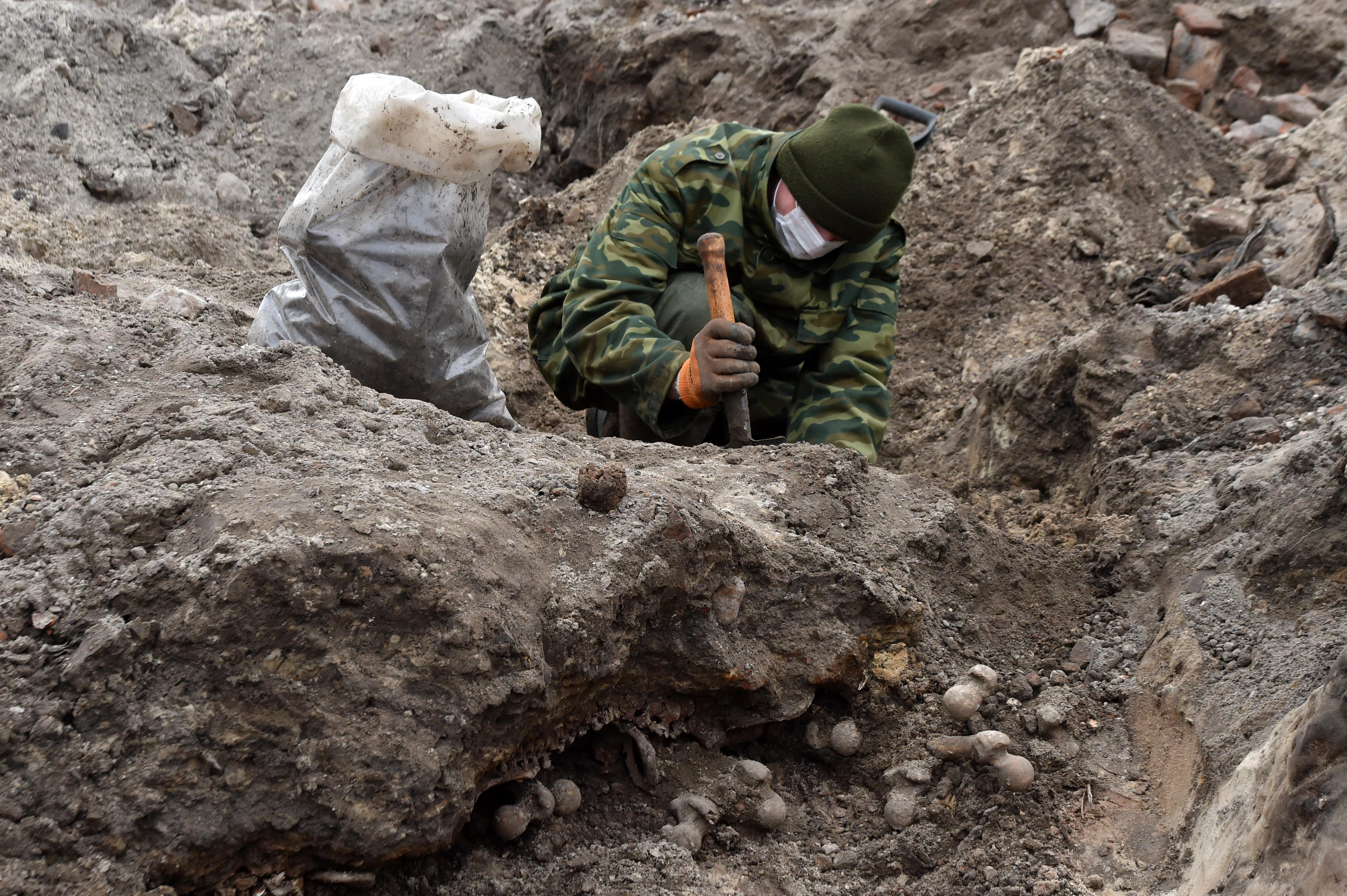Nácik által lemészárolt zsidók tömegsírjára bukkantak Belarussziában