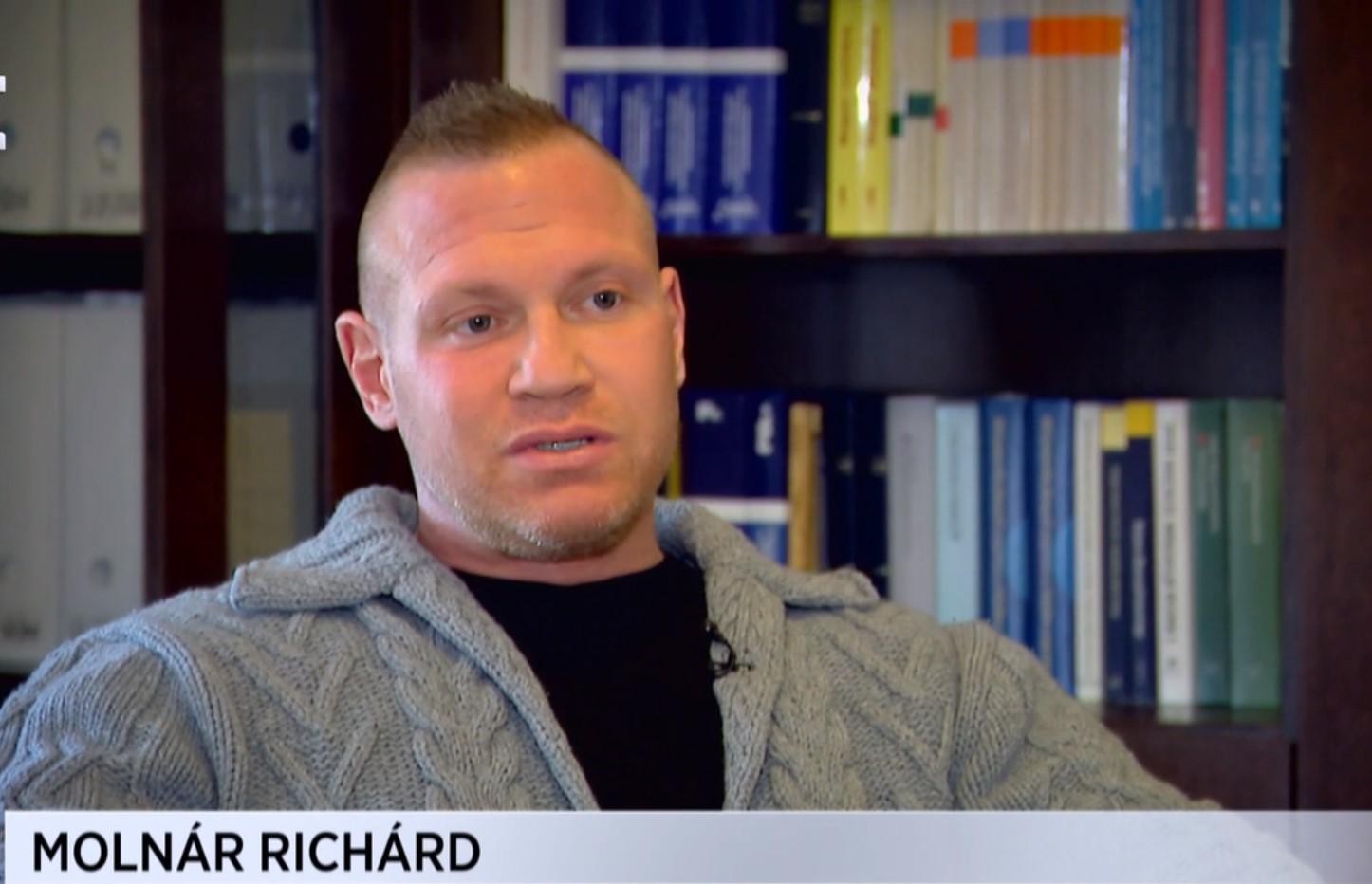 """M. Richárd az Echo tévének: """"Az emberek szeretnek utálkozni, én erre jó alany vagyok"""""""
