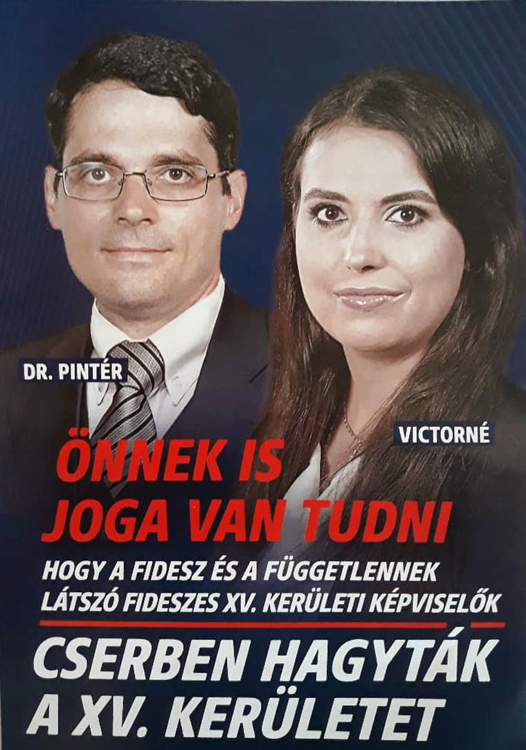 Fideszesekre cserélték Sorost és Junckert a XV. kerületben