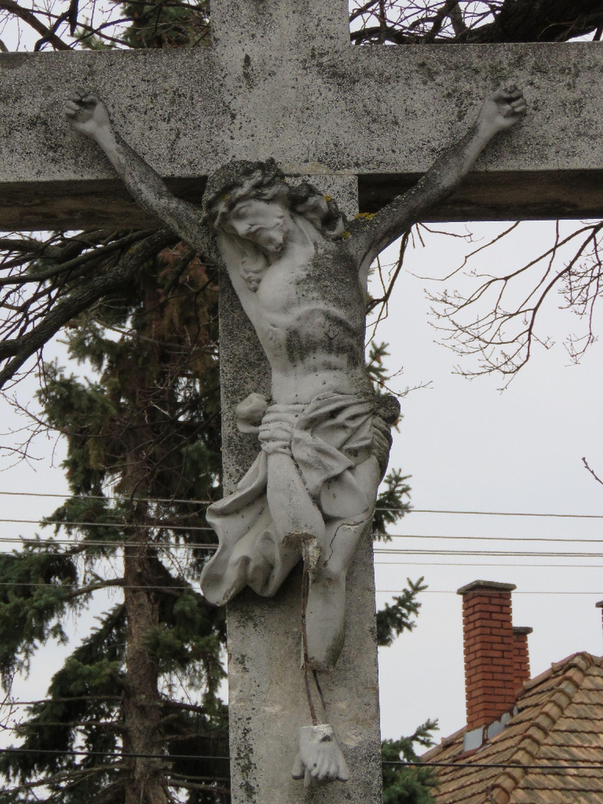 Csákánnyal támadt Jézusra