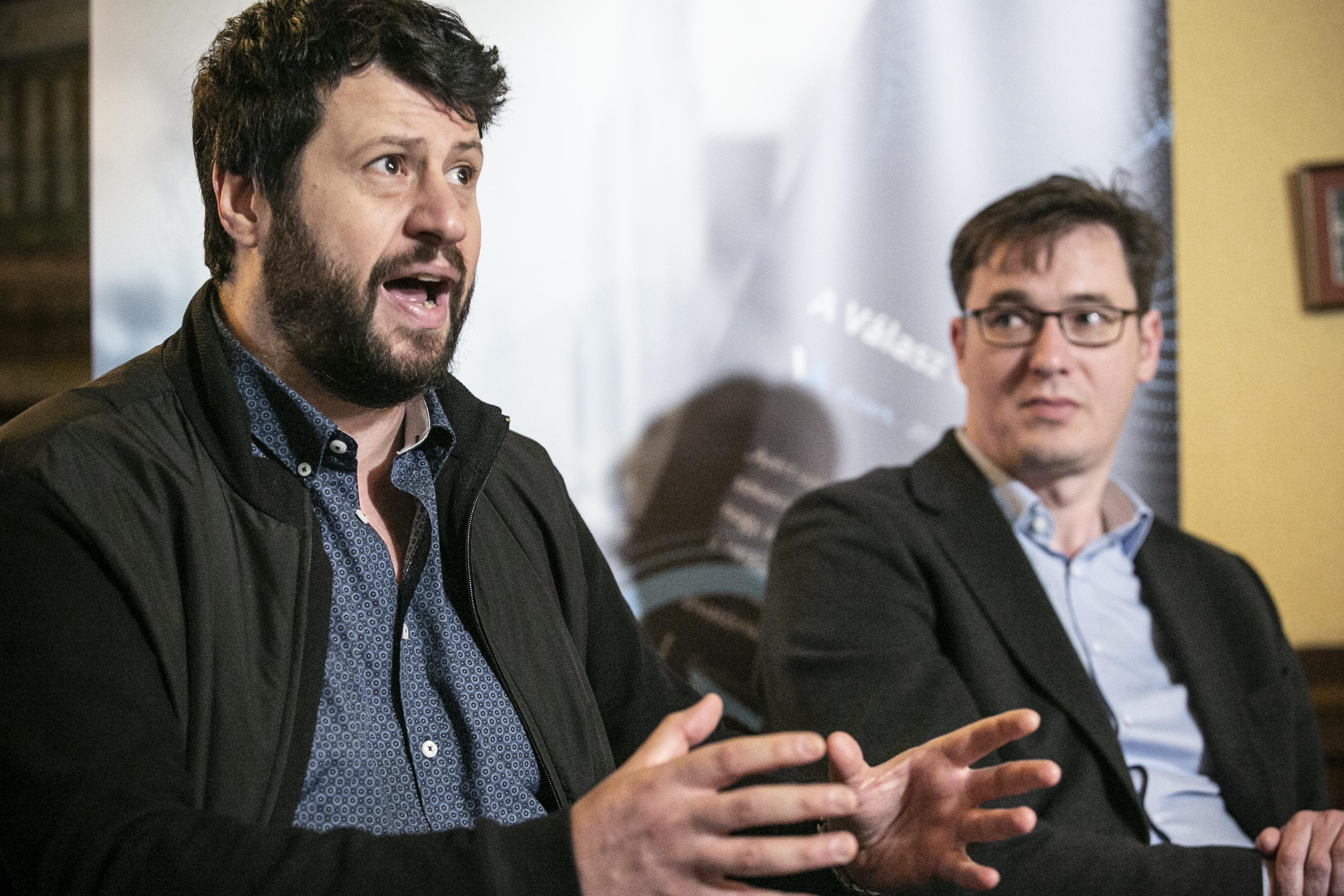 A momentumos Kerpel-Fronius kibékítené Karácsony Gergelyt és Puzsér Róbertet, hogy csak egy ellenzéki jelölt induljon Tarlós ellen Budapesten
